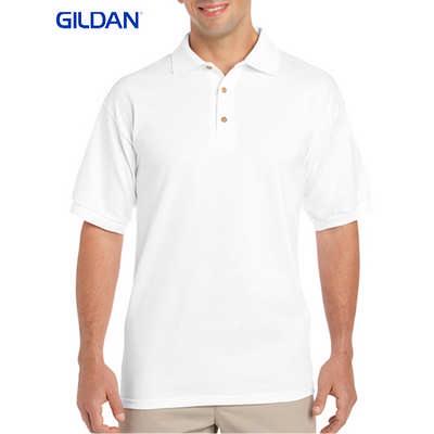 Gildan Ultra Cotton Adult Jersey Sport Shirt White